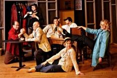 """Publicity shot for improv group """"Unleashed"""""""